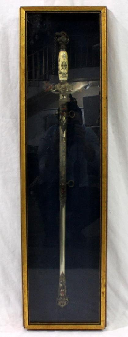 Antique Masonic Ceremonial Sword