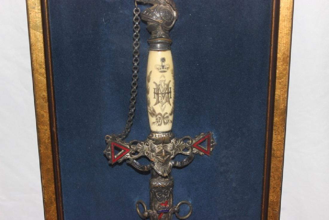 Antique Masonic Ceremonial Sword - 2