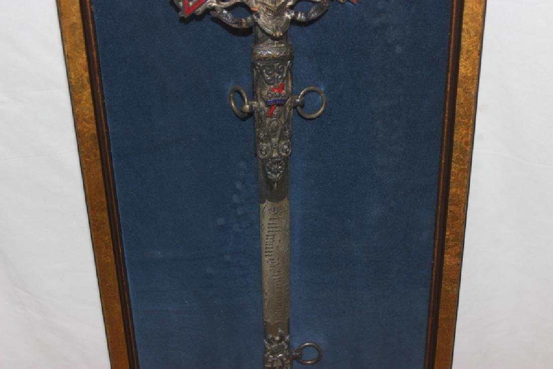 Antique Masonic Ceremonial Sword - 3