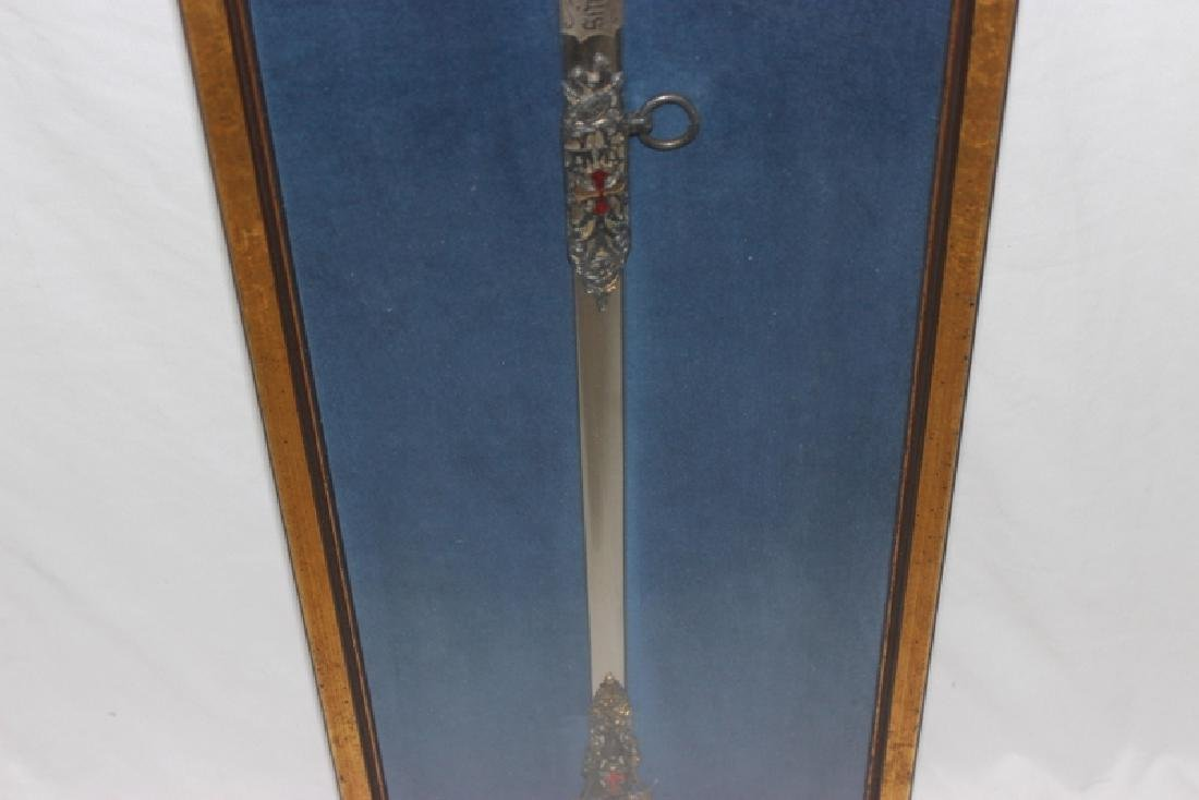 Antique Masonic Ceremonial Sword - 4