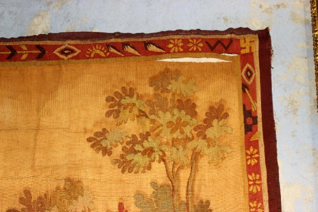 Antique French Aubusson Tapestry - 2