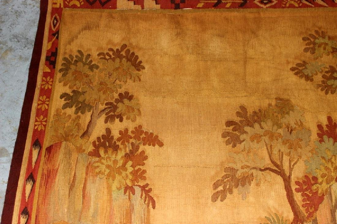 Antique French Aubusson Tapestry - 3