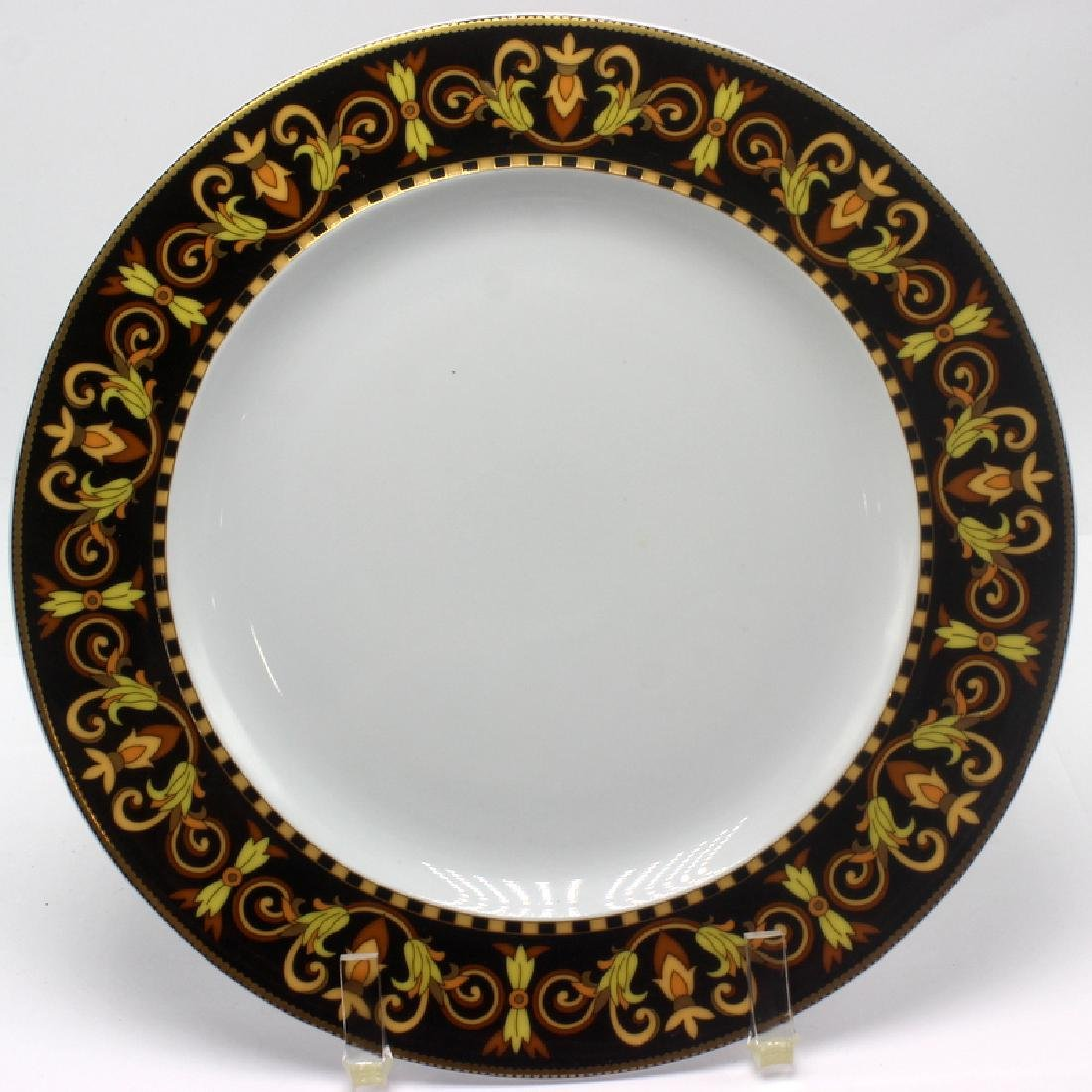 Rosenthal Versace Barocco (6) Luncheon Plates