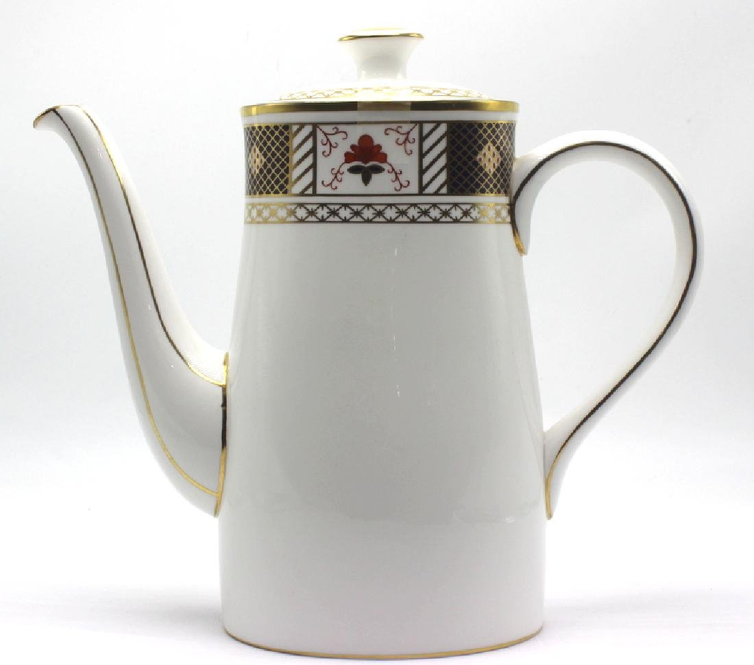 Royal Crown Derby Derby Border Tea Pot