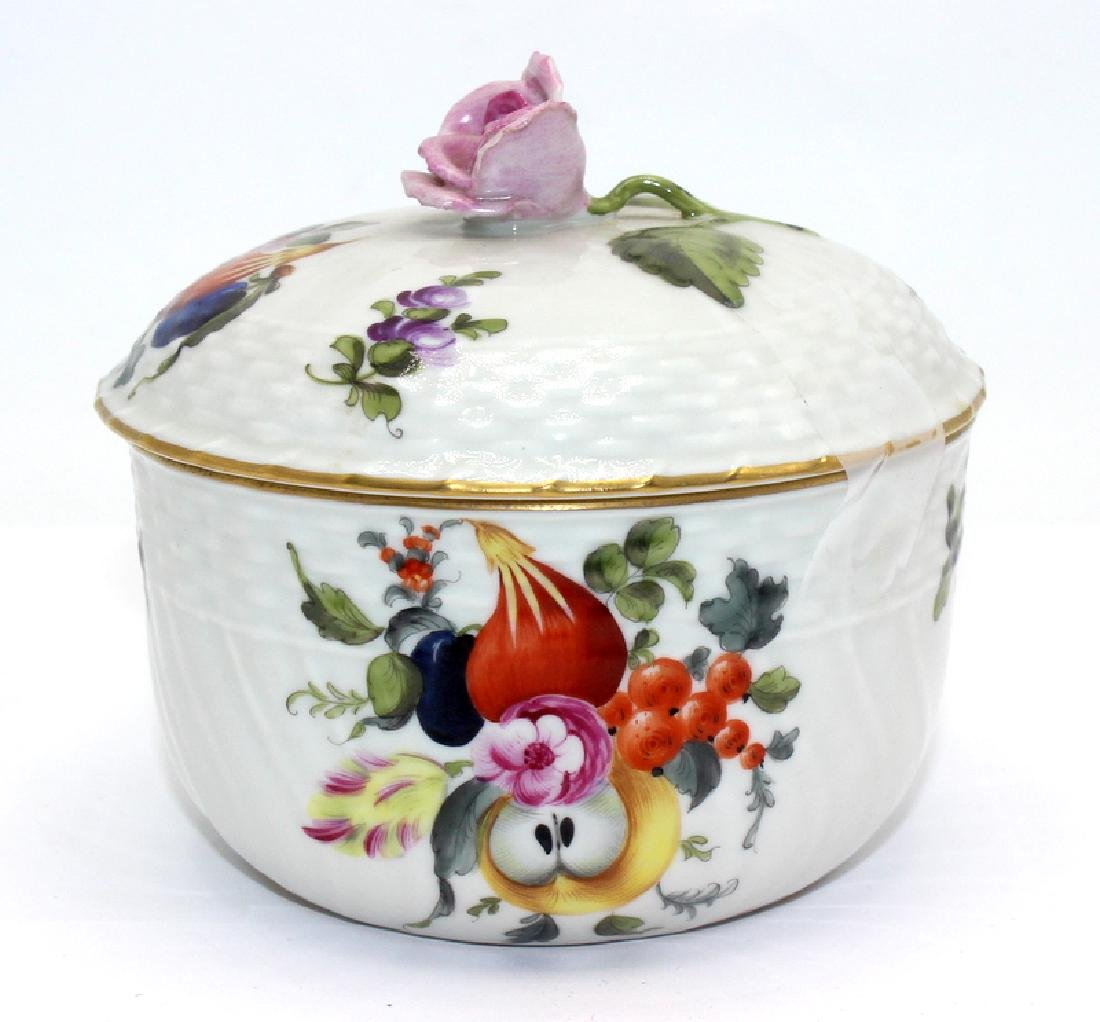 Herend Handpainted Sugar Bowl