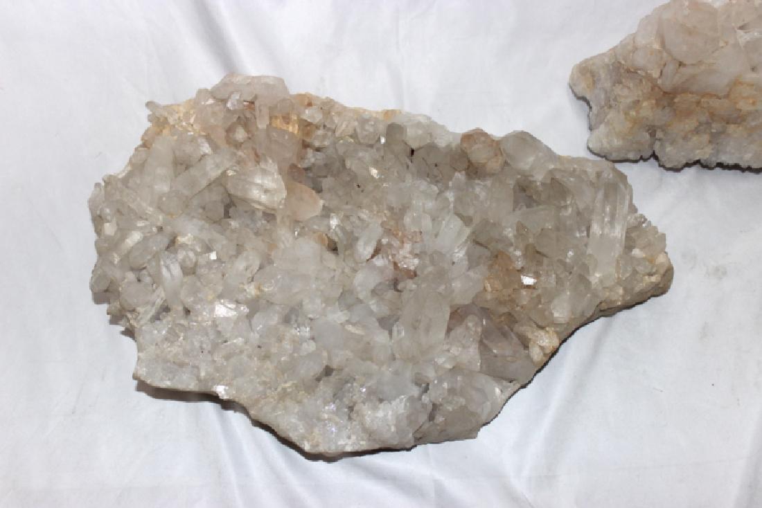 Rock Crystal Quartz (2) Centerpieces - 2