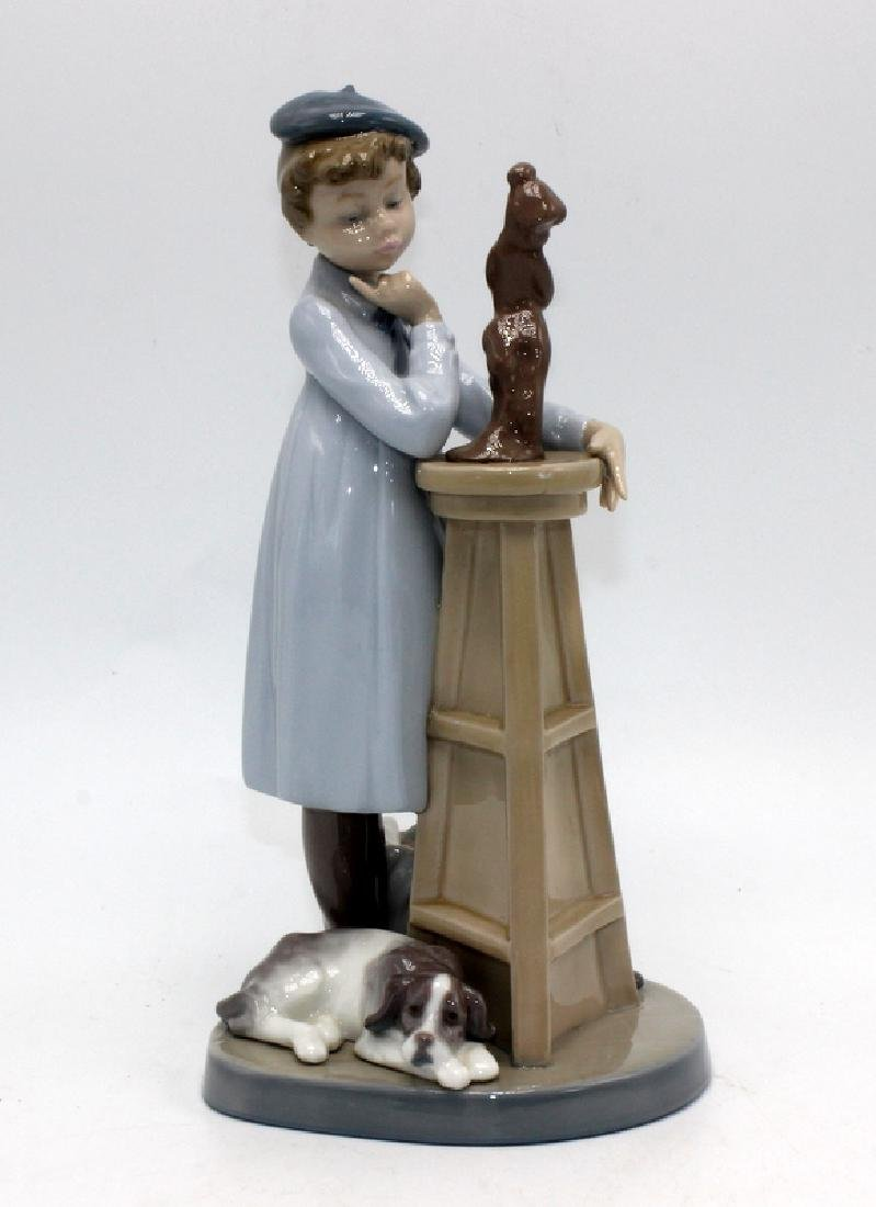 "Lladro #5358 ""Little Sculptor"""