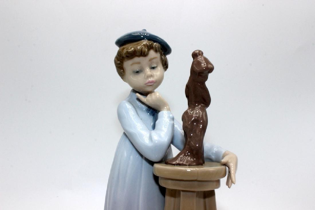 "Lladro #5358 ""Little Sculptor"" - 2"