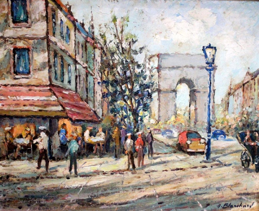 Antoine Blanchard (Paris, b.1910-1988) Oil on Canvas