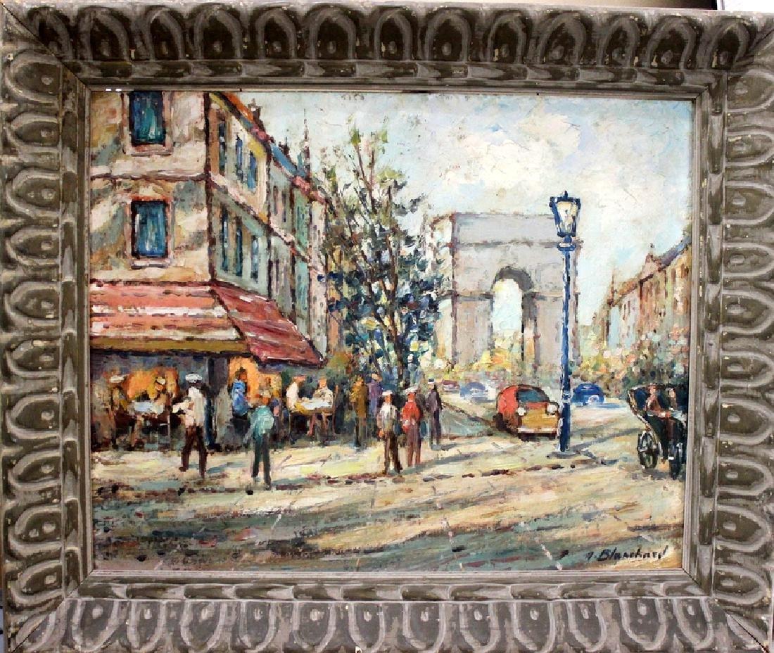 Antoine Blanchard (Paris, b.1910-1988) Oil on Canvas - 2