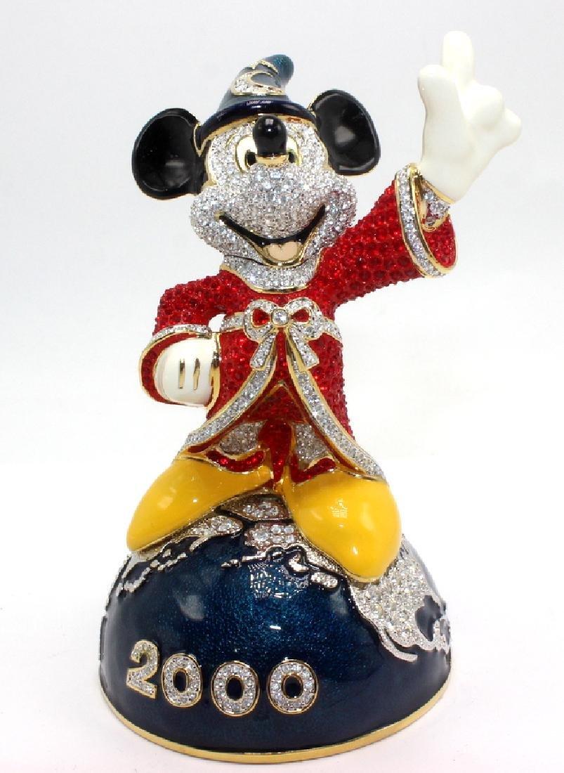 Swarovski Crystal Arribas Disney Mickey Mouse