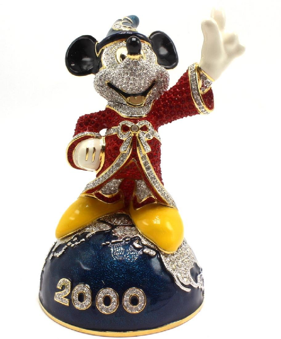Swarovski Crystal Arribas Disney Mickey Mouse - 2