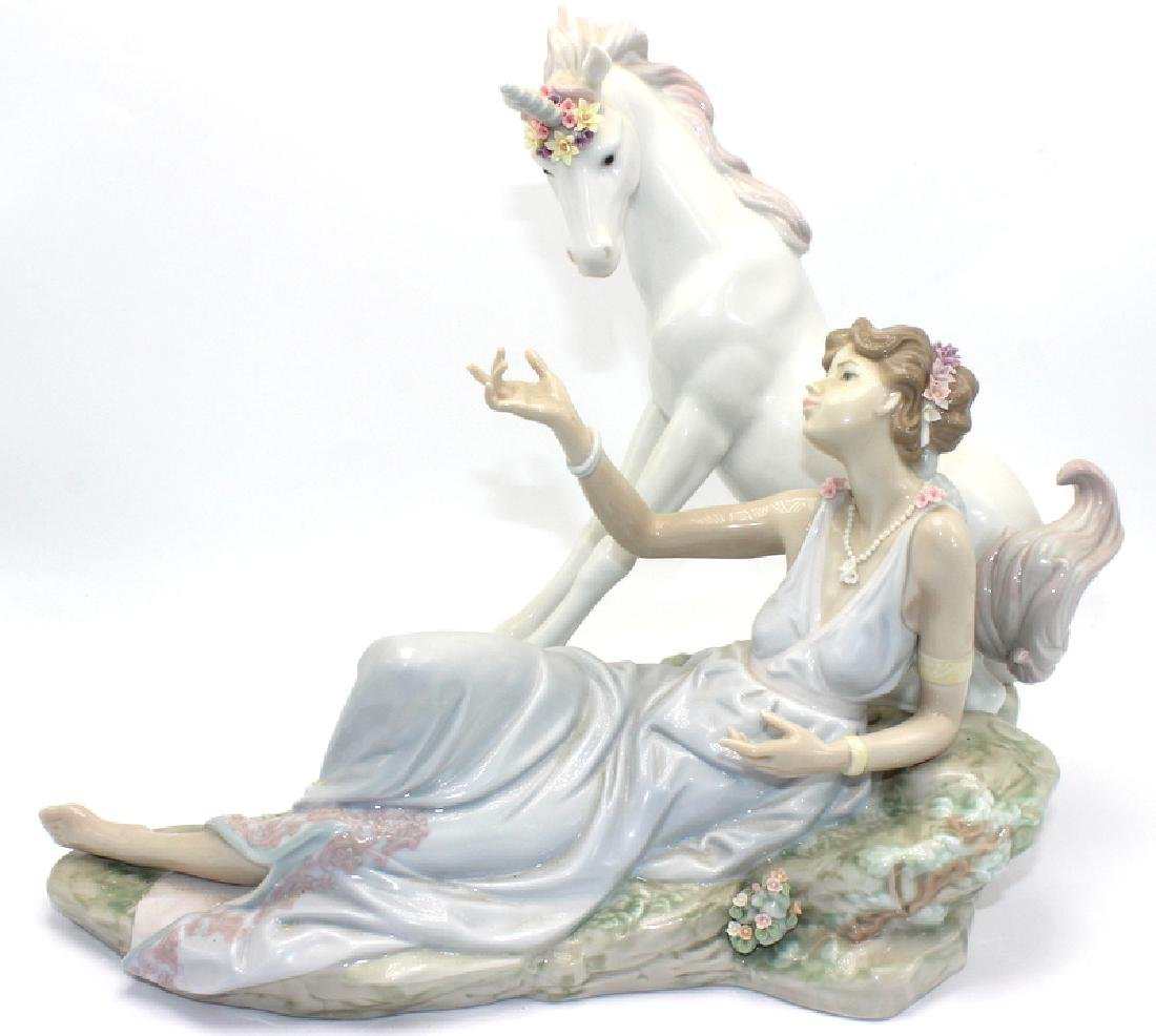 Lladro #6007 The Goddess and Unicorn