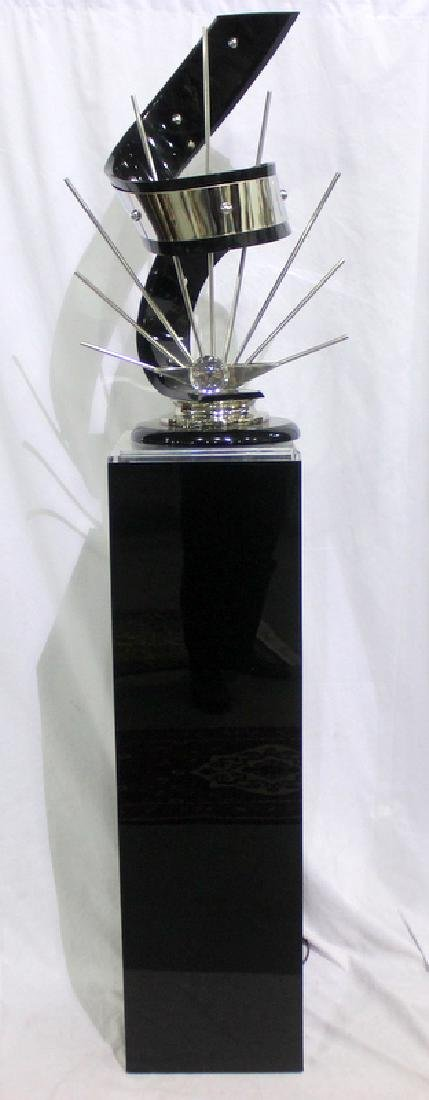 Shlomi Haziza Acrylic & Metal Sculpture