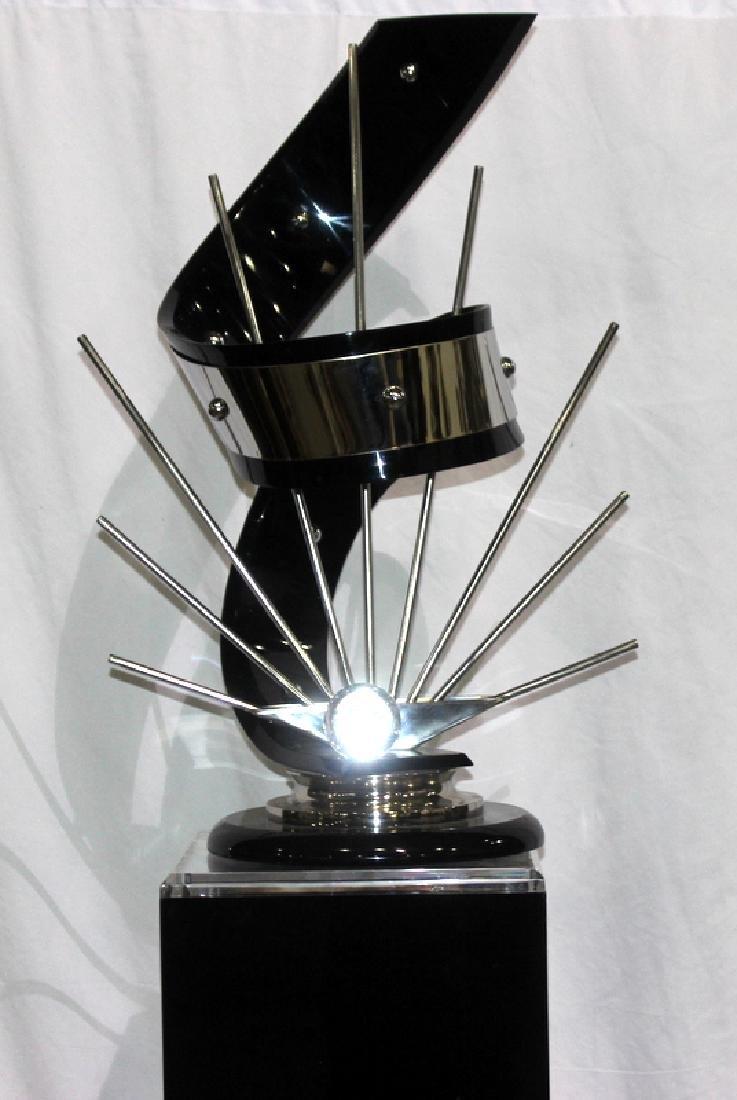 Shlomi Haziza Acrylic & Metal Sculpture - 2
