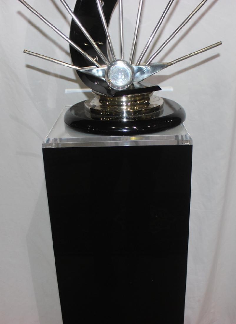 Shlomi Haziza Acrylic & Metal Sculpture - 5