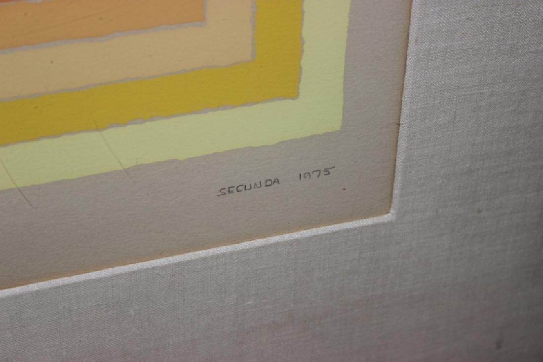 "Arthur Secunda (American, b. 1927) ""Protrusion - 4"