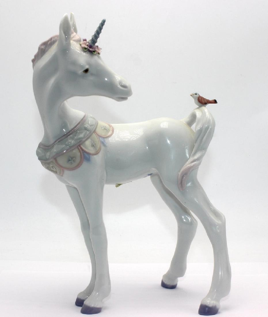 Lladro #5993 Unicorn and Friend