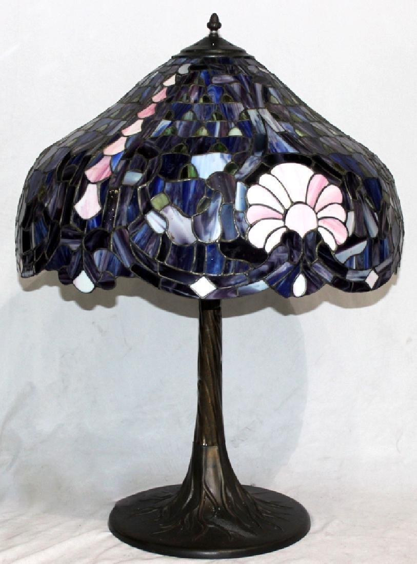 Tiffany Style Art Glass Lamp