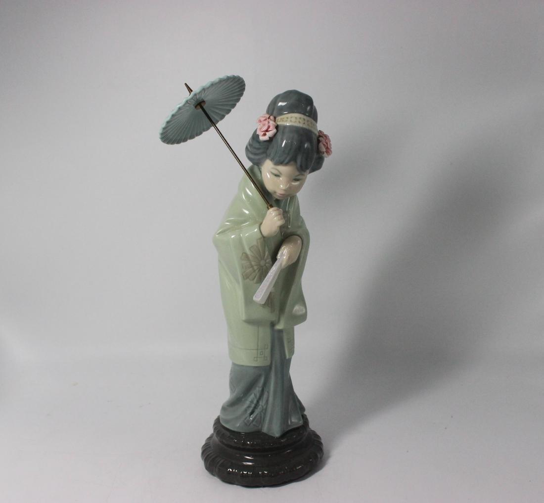 """Lladro #1451 """"geisha girl"""""""