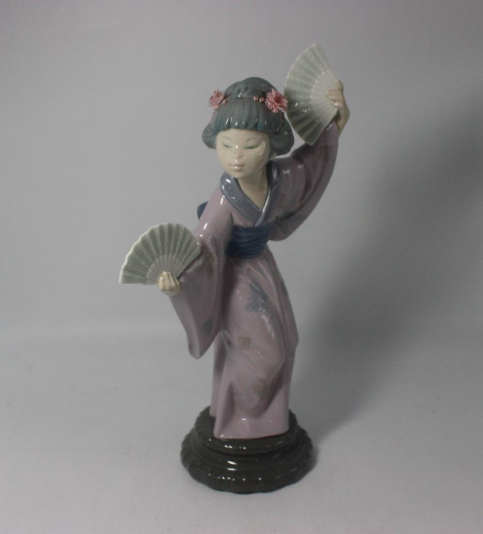 """Lladro #4991 """"Geisha"""""""