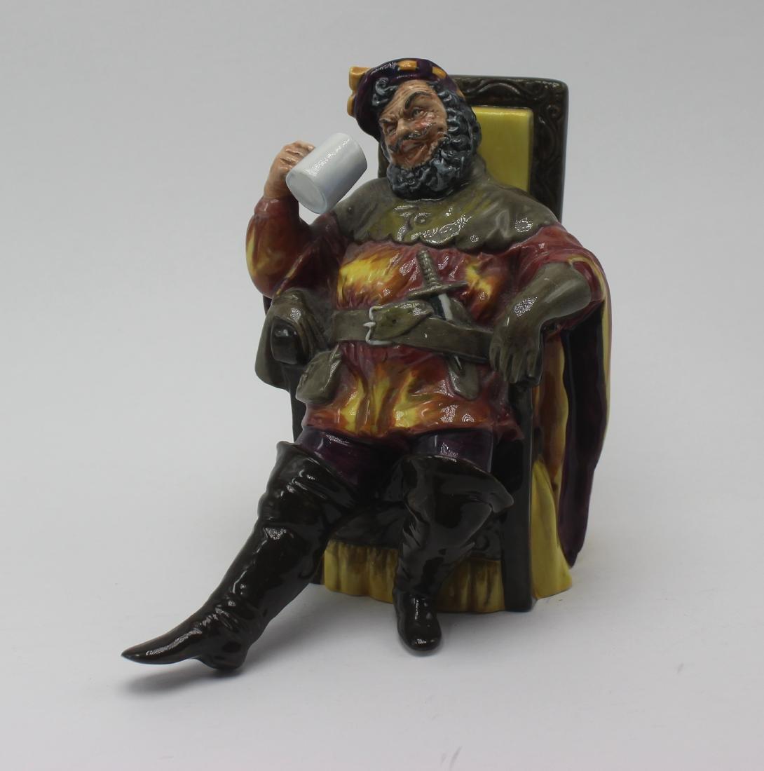 """Royal Doulton """"The foaming quart"""" figure"""