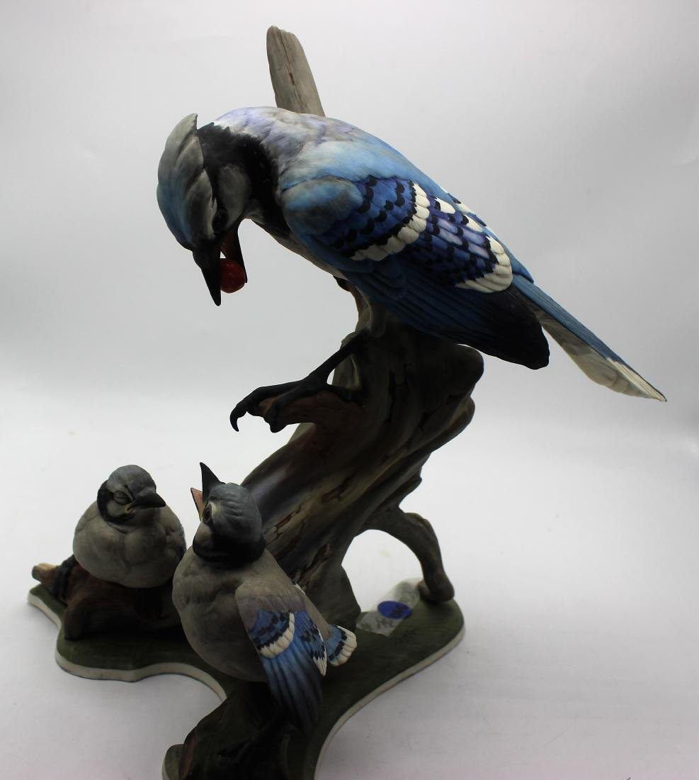 Boehm porcelain #466 Blue jays