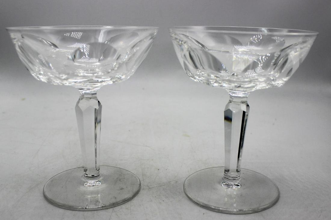 Waterford champagne glasses - 2