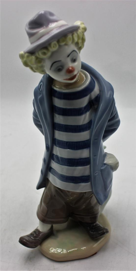 """Lladro porcelain #7602. """"Little traveler"""""""