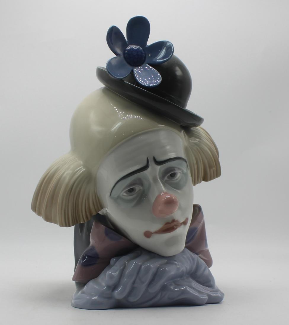 Lladro #5130 clown figure