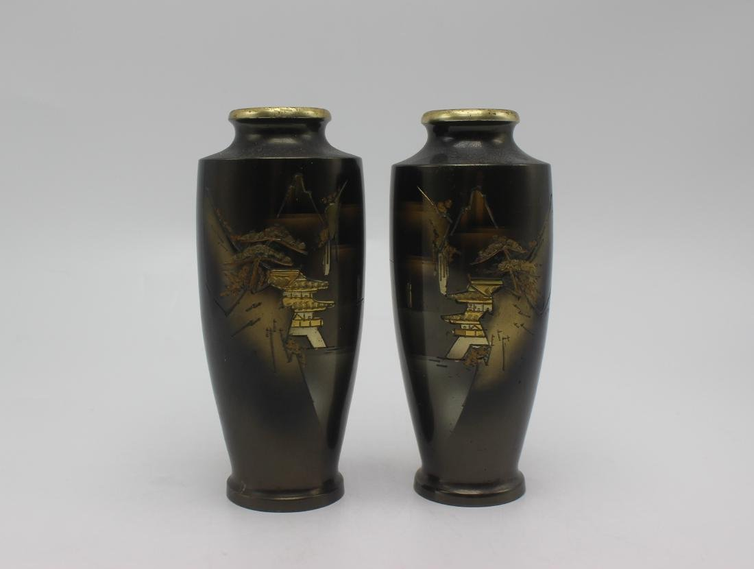 Pair of Antique Japanese