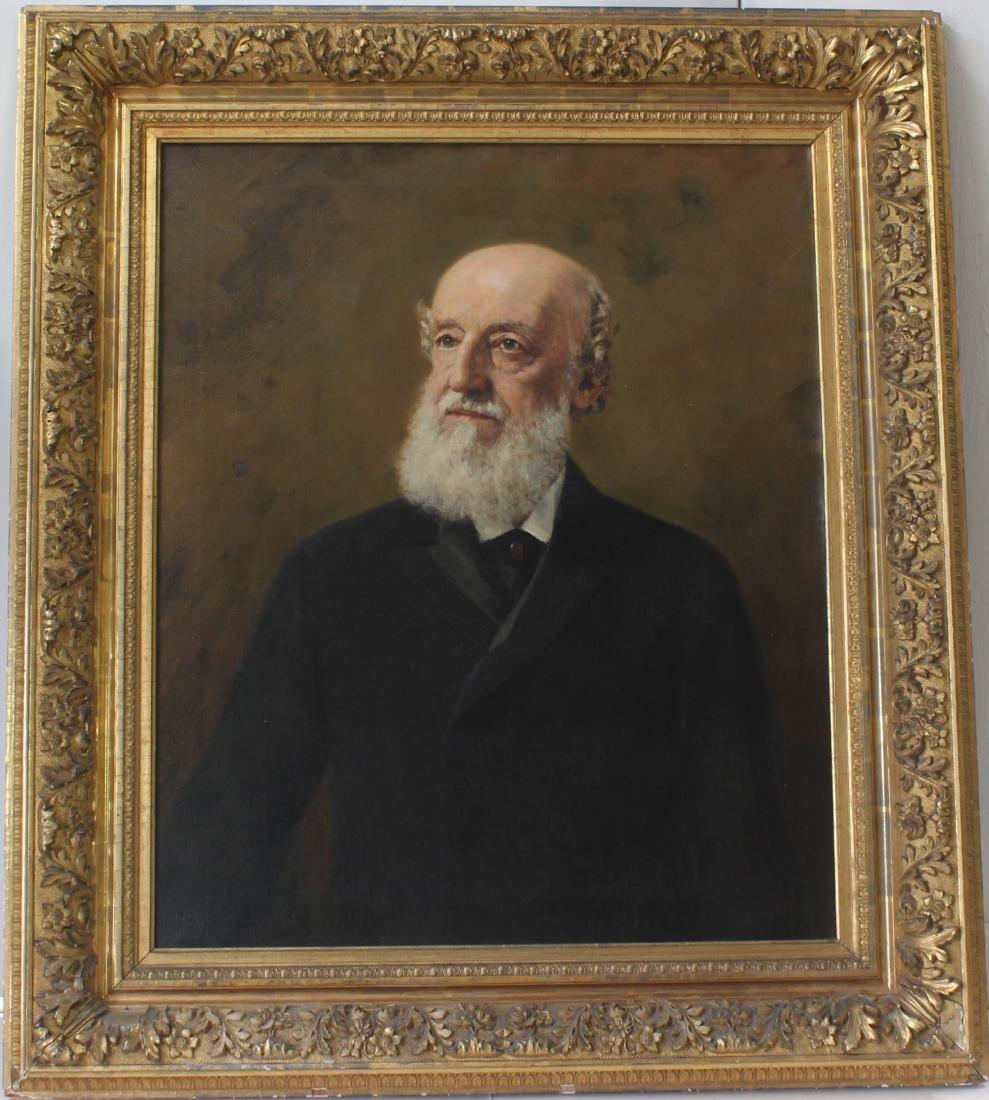 American Oil Painting Portrait