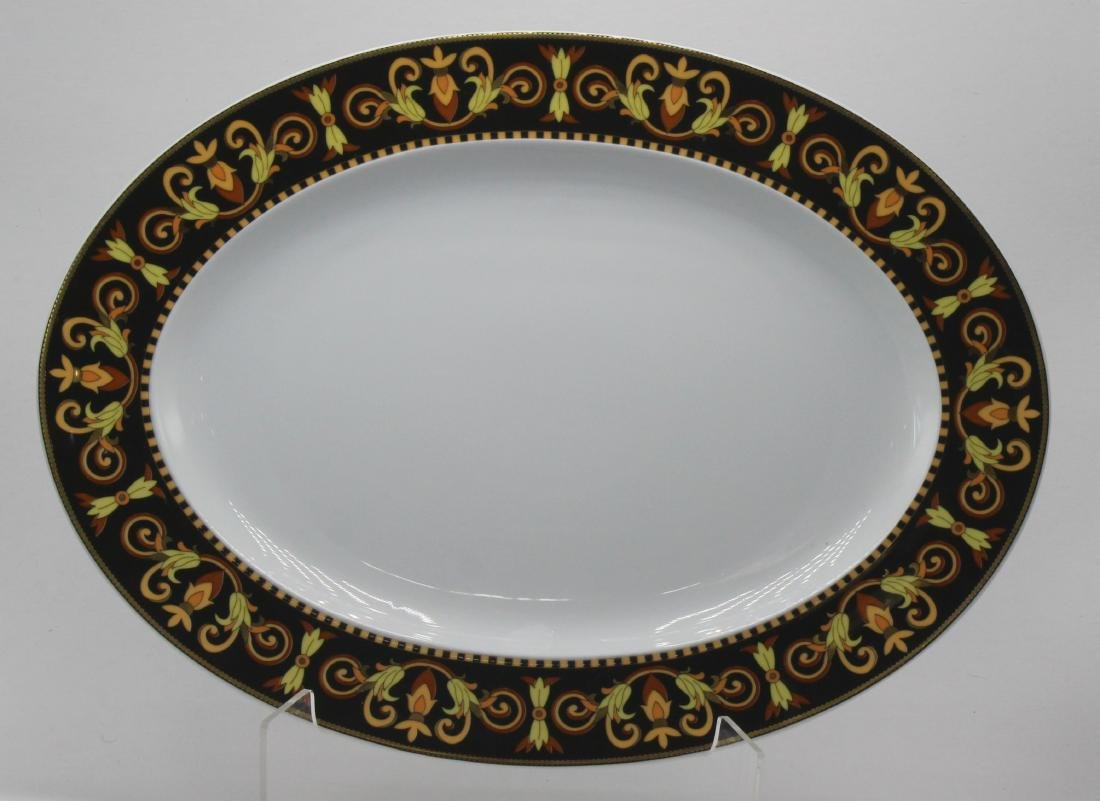 Rosenthal Versace Barocco Oval Plater