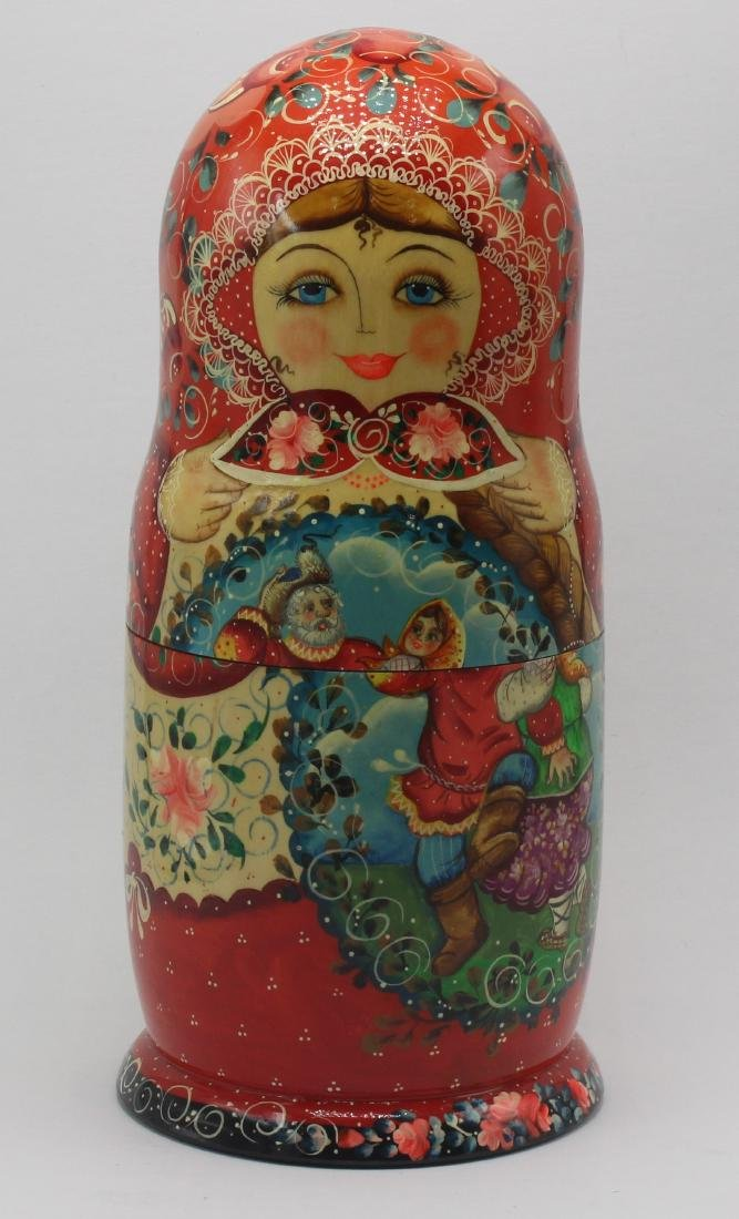Antique Russian Nesting Dolls - 3
