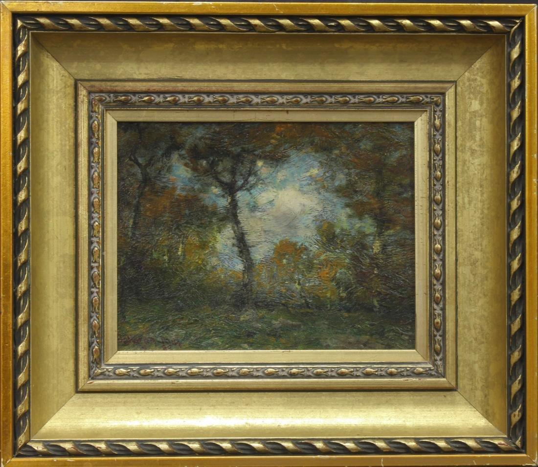 Original Franklin DeHaven Oil painting on canvas