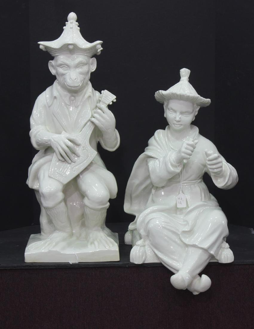 Pair of Italian Porcelain figures