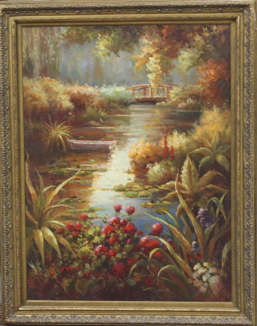 American Oil Painting on Canvas.