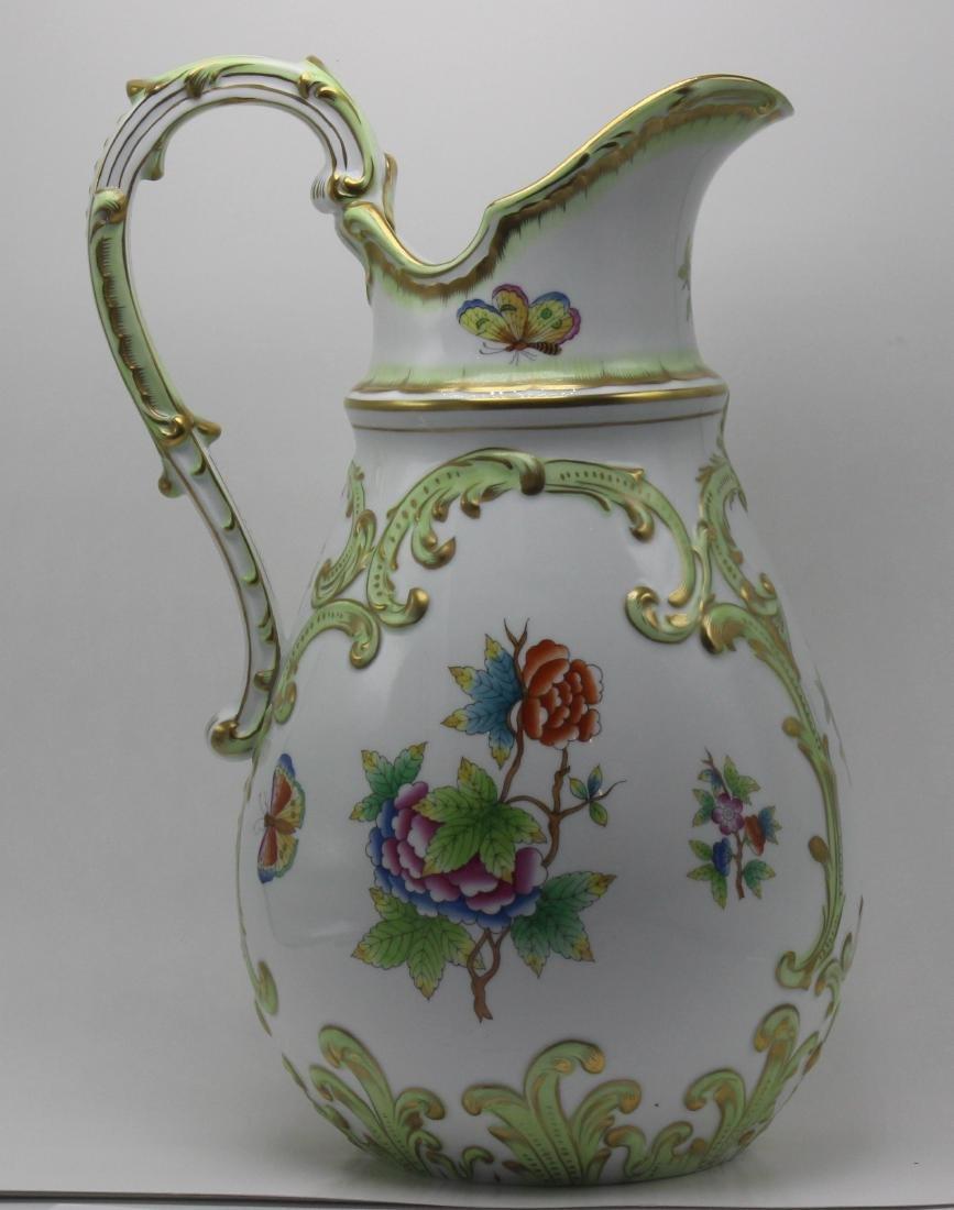 Herend Porcelain Queen Victoria Pitcher