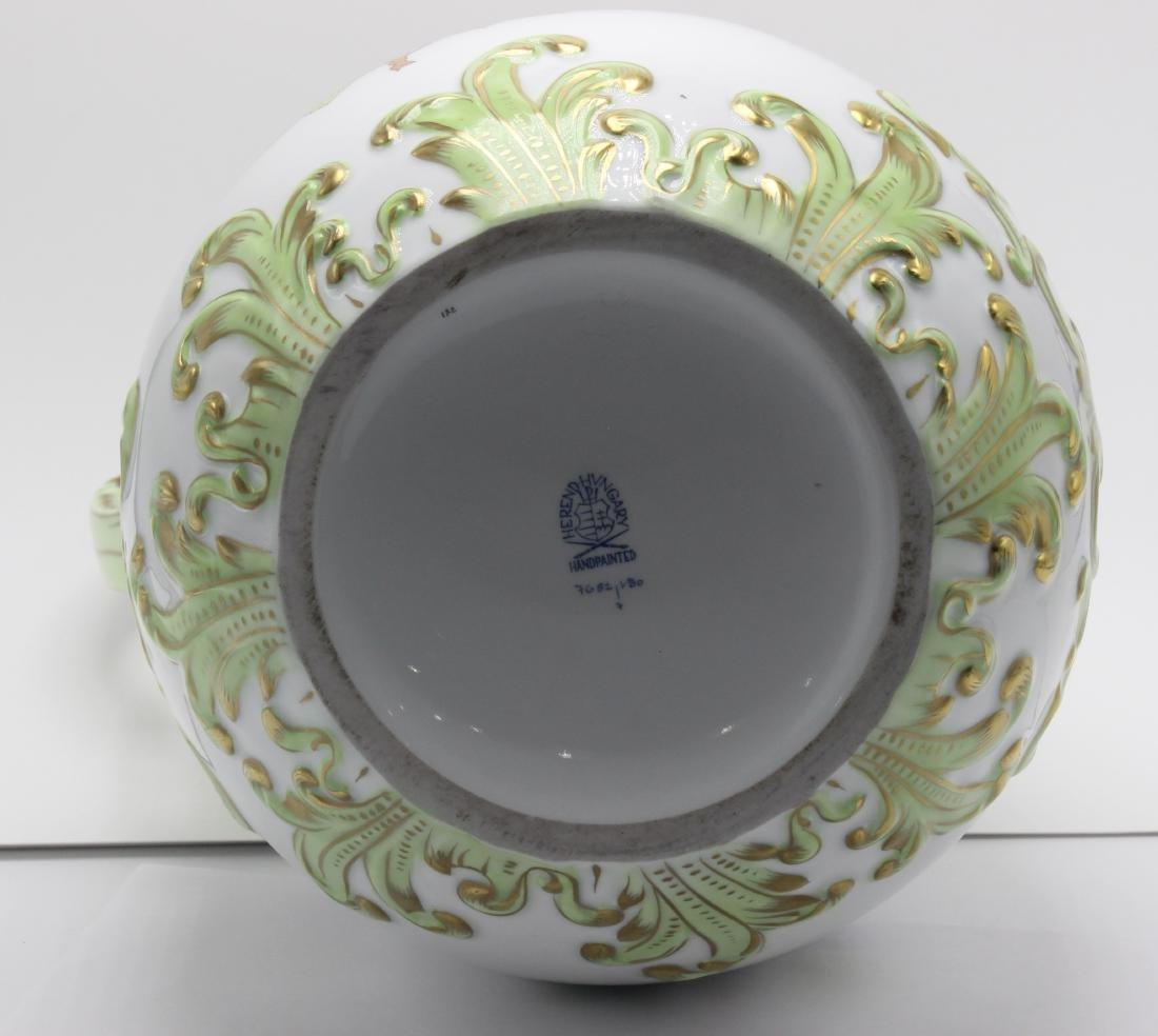 Herend Porcelain Queen Victoria Pitcher - 3