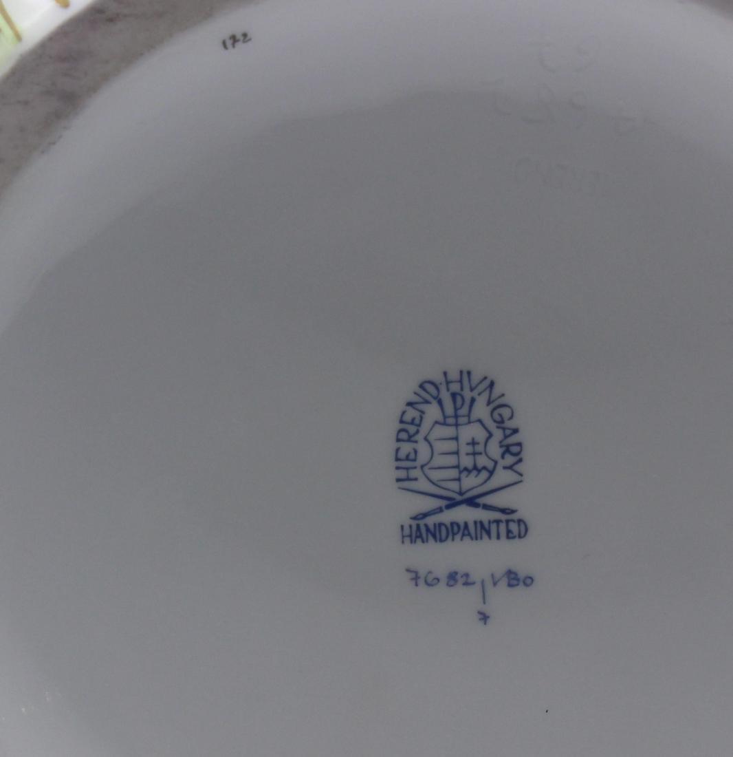 Herend Porcelain Queen Victoria Pitcher - 4