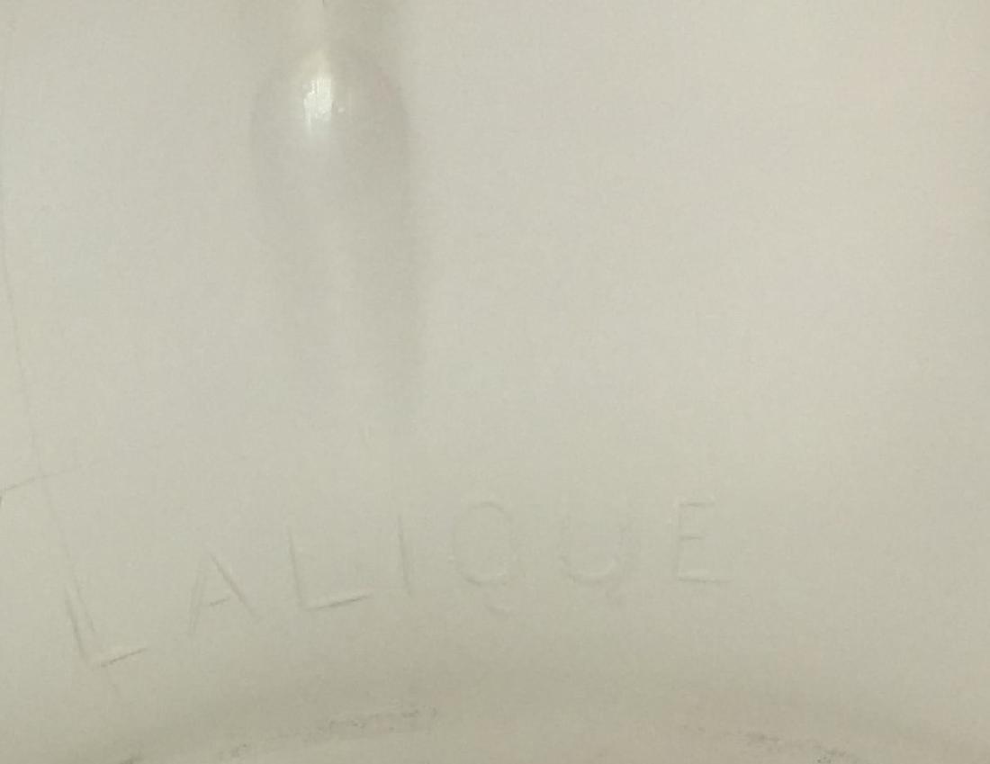 Pair Of Rene Lalique Bottle Signed Lalique - 2