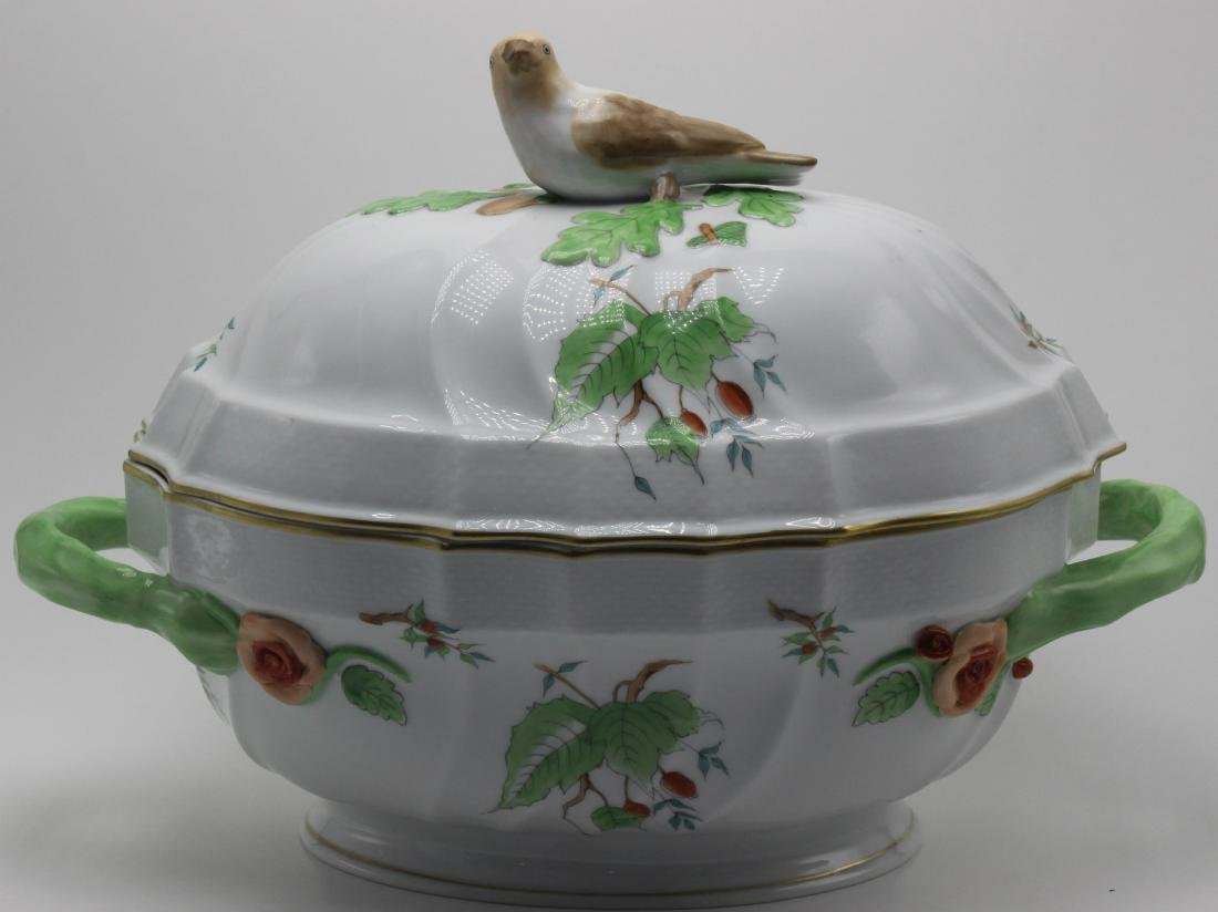 Herend Porcelain Covered casserole