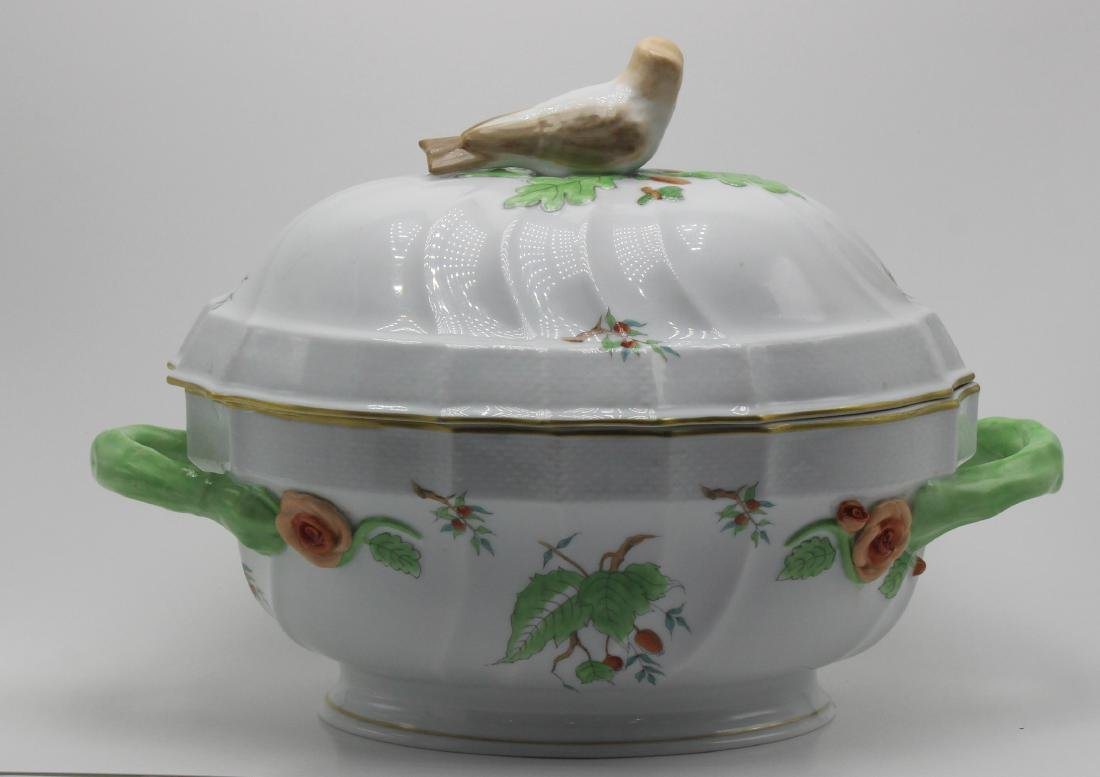 Herend Porcelain Covered casserole - 2