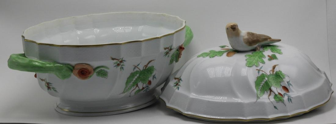 Herend Porcelain Covered casserole - 5