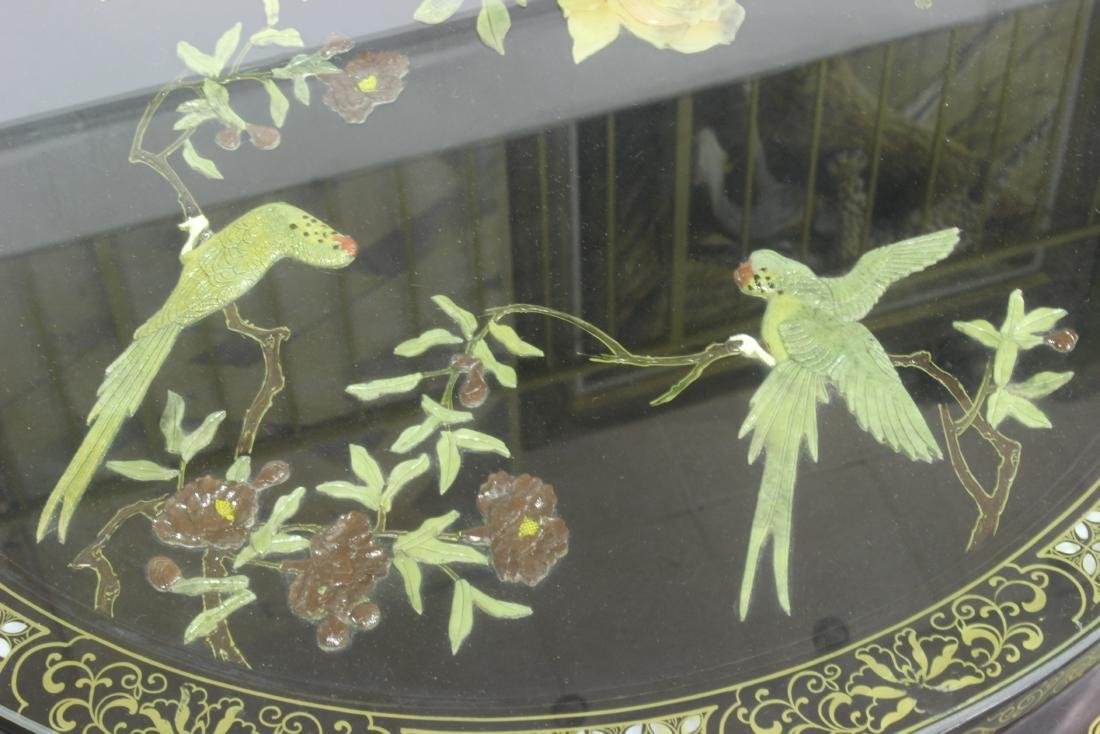 Mother of Pearl Chinese Republic  5 piece Lacquered - 6