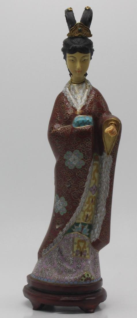 Cloisonne Figure Of Women