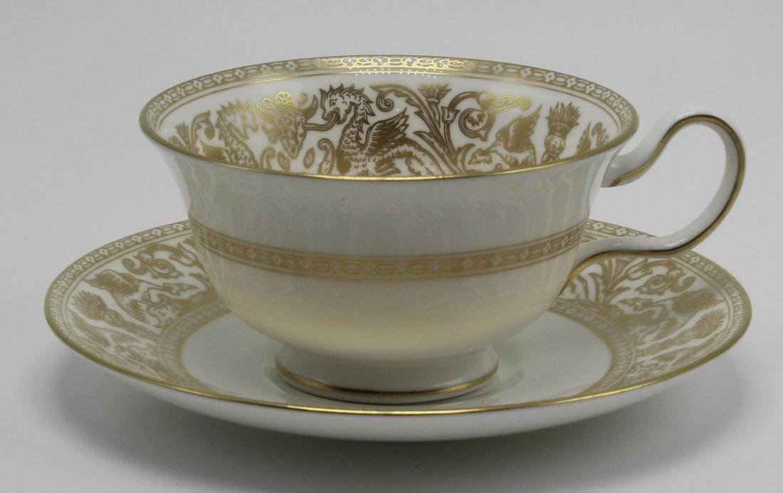 Wedgwood Gold Horentine China Service for 12 - 4