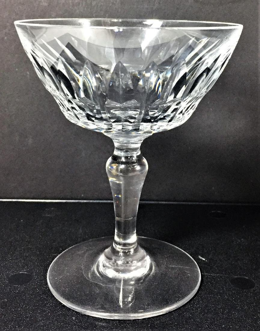 Baccarat Auteuil Crystal Lot 10 Champagne / Sherbet - 5