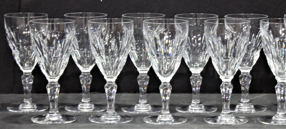 Baccarat Signed Auteuil Crystal Lot 10 Port Wine