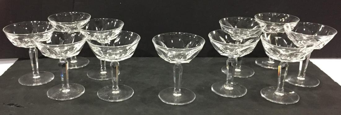 Waterford Crystal Sheila 11 Champagne Glasses
